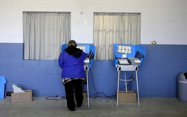 US election 2016: out of date voting machines spark fears of another hanging chad fiasco