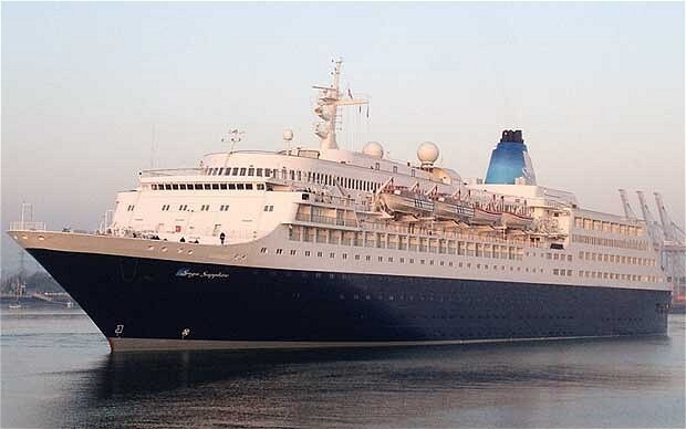 Mystery as British pensioner disappears from luxury cruise ship