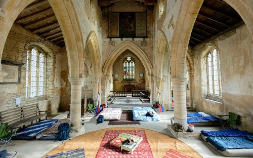'Champing' moves to Scotland as more churches offer overnight stays
