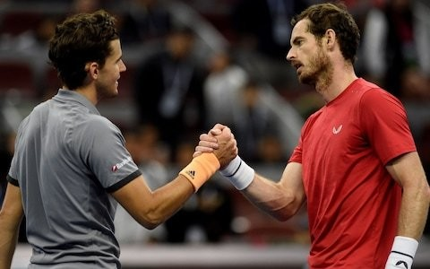 Andy Murray finds Dominic Thiem too hot to handle at China Open but should leave Beijing in good heart