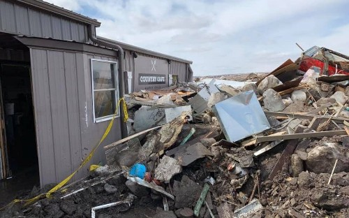 Two dead as US Midwest battered by heavy storms