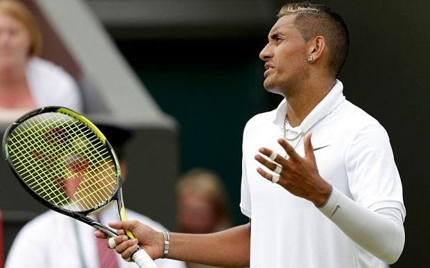 Nick Kyrgios denies deliberately throwing game against Richard Gasquet at Wimbledon 2015