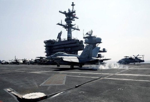 US Navy strike group 'moving towards Korean peninsula'