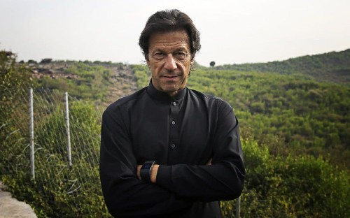 Imran Khan accused of endorsing military coup in Pakistan