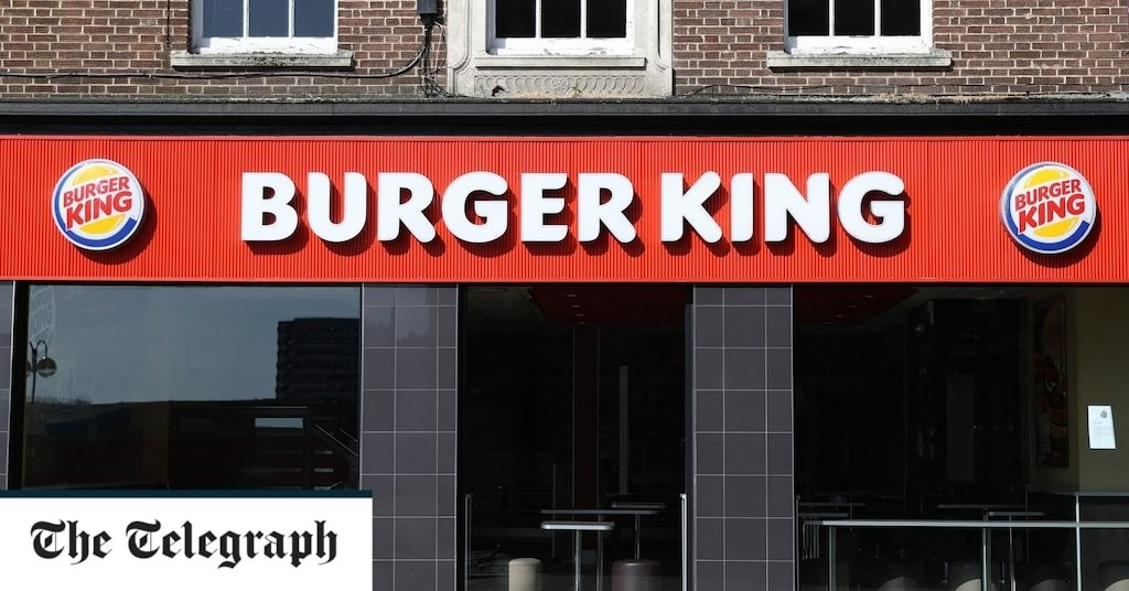 Burger King prepares to shut some UK restaurants