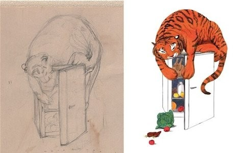 Mog, the tiger, and me: Judith Kerr on the stories behind her sketches