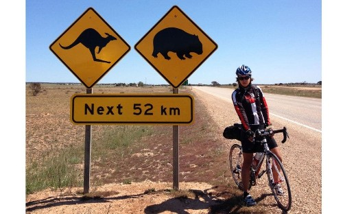 'I couldn't find a way to continue living - so I cycled round the world'