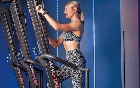 The stand-up 'fitness ladder' taking the fitness world by storm