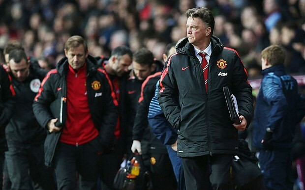 Manchester United will not win Premier League playing like this, says Louis van Gaal