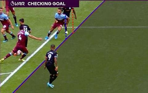 The baffling obsession with 'daylight' will not rescue football from VAR's microscopic offside judgement