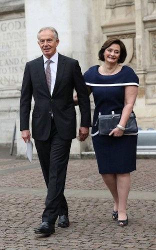 Chelsea boots at a memorial service: have Blair and Cameron taken relaxed suiting a step too far?