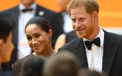 Duke and Duchess of Sussex share quote from Princess Diana on 'random acts of kindness'