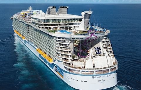 The world's largest cruise ship in numbers