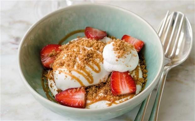 Strawberry sundae recipe