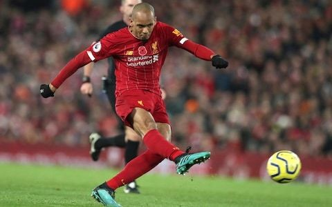 Liverpool find final piece of jigsaw with flawless Fabinho who has filled the considerable gap left by Steven Gerrard