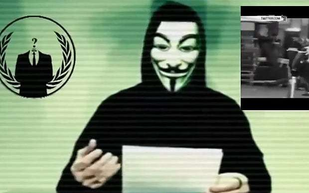 Paris attacks: Anonymous declares war on Islamic State