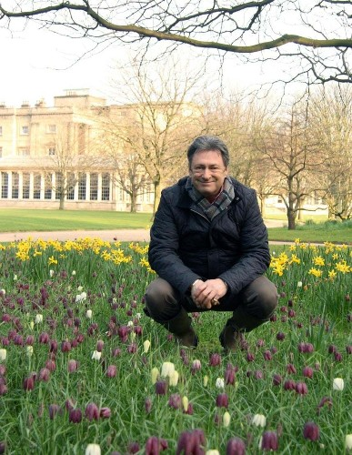 In pictures: Alan Titchmarsh at the Buckingham Palace Garden