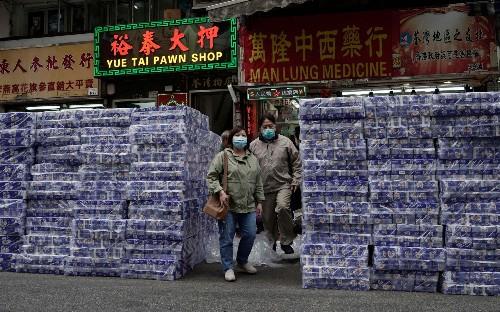 Armed gang steals toilet rolls in panic-buying hit Hong Kong