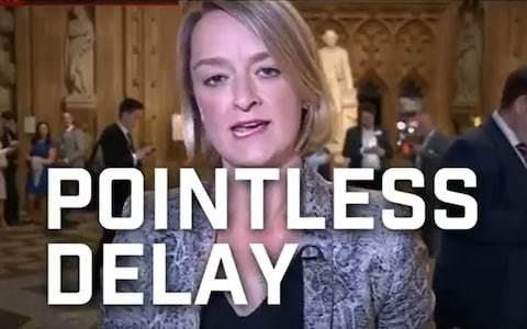 Facebook bans Conservative election advert featuring Laura Kuenssberg