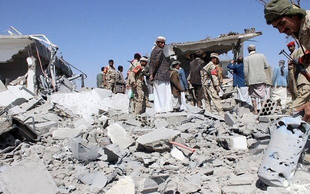 Forty refugees killed by Saudi-led bombing campaign in Yemen