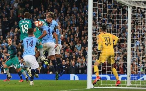 Uefa defends referee's decision to allow Fernando Llorente's decisive goal against Manchester City
