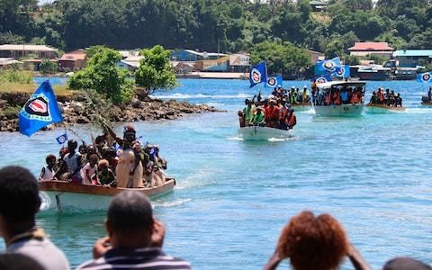 Bougainville votes for independence from Papua New Guinea to become world's newest nation