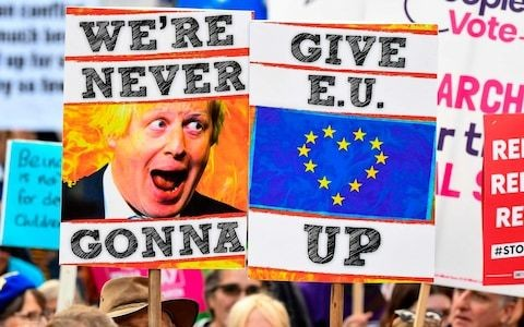 Deceitful Remainers are fooling themselves if they think we can't see through their 'People's Vote' lies