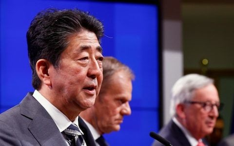 Japan warns that no deal Brexit must be avoided at all costs at Brussels summit