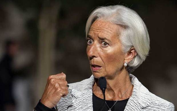 Britain's economy is 'leading the way', head of IMF says