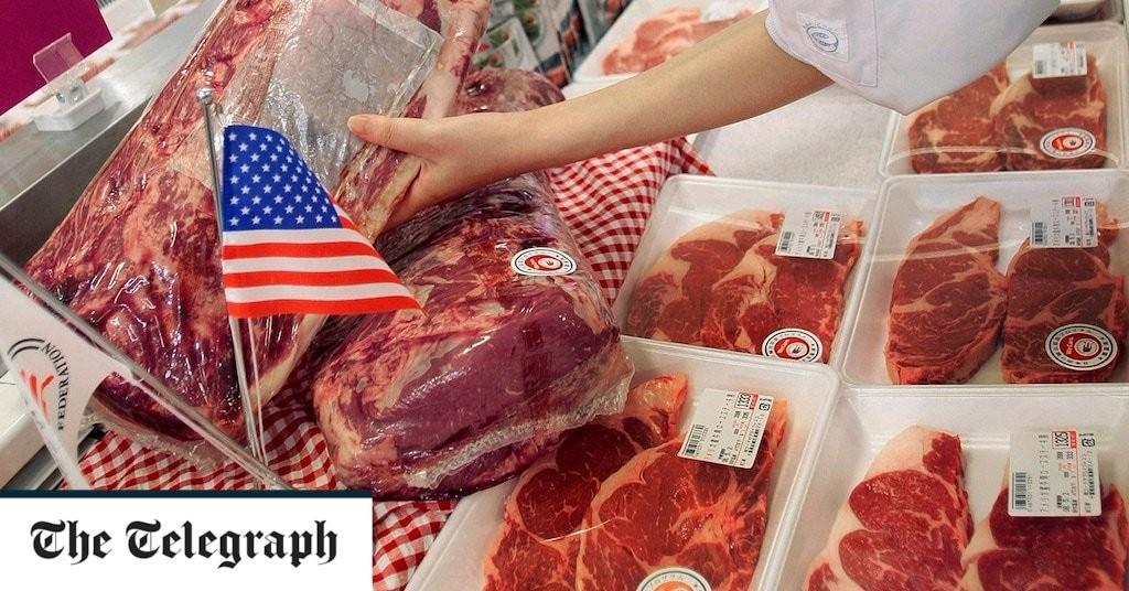 Hormonal beef and chlorine chicken could be coming to UK if trade deal with US goes ahead