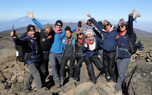 Kilimanjaro: The Bigger Red Nose Climb, review: an incredible, inspiring effort from these brave celebrities