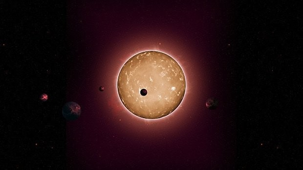 Ancient miniature solar system hints at existence of alien life