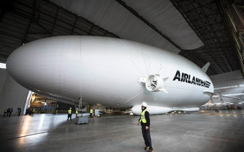 World's largest aircraft leaves hangar for first time ahead of maiden flight