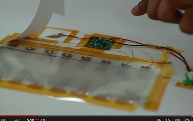 Electronic printable ink developed by scientists
