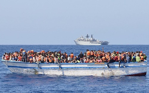 Up to 700 migrants feared dead in the Mediterranean in just three days