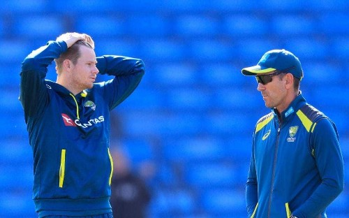 Justin Langer insists Australia will not fire bouncers back at England: 'We are not here to see how many helmets we can hit'