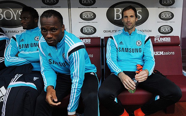 Petr Cech will fight for his place at Chelsea despite Thibaut Courtois starting at Burnley, says Jose Mourinho