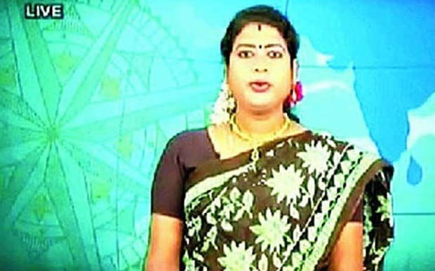 India hails first transgender newsreader after law recognises third sex