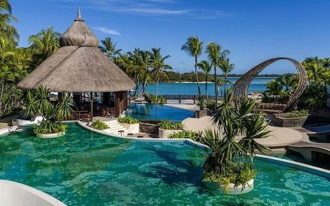 Is this the coolest hotel in Mauritius?