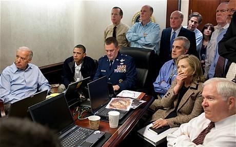Barack Obama 'played cards on day of Osama bin Laden raid'