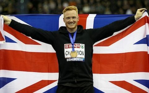 Greg Rutherford: 'My body confidence was so low I didn't take my shirt off for five years'