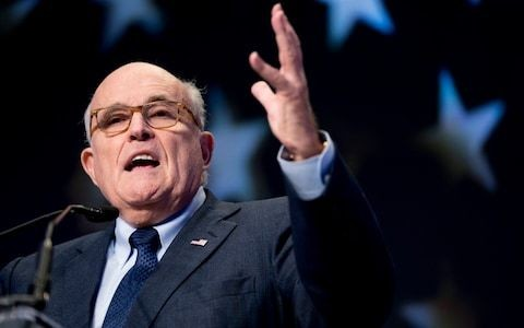 Trump's cybersecurity adviser Rudy Giuliani blames Twitter after embarrassing typo