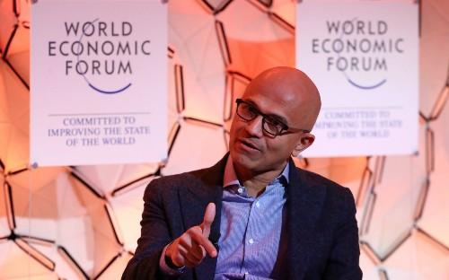 Data privacy is a 'human right' says Microsoft's Satya Nadella