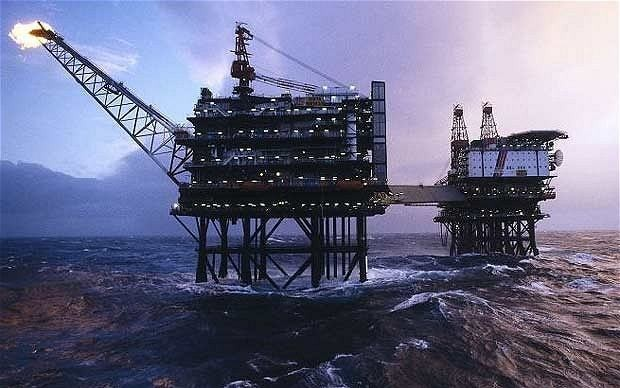 Britain faces £200bn oil loss