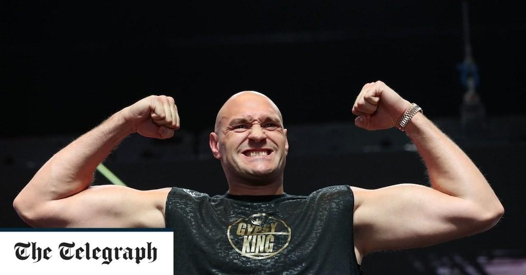 Tyson Fury: Take me off Sports Personality shortlist