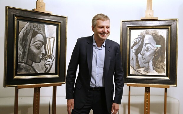 Russian billionaire hands two 'stolen' Picassos to French authorities