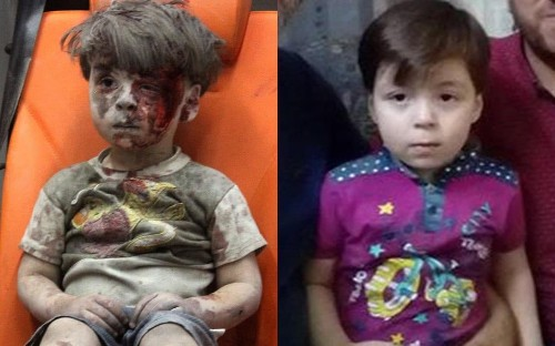 New photos emerge of Omran Daqneesh, the boy who became a symbol of Aleppo's suffering