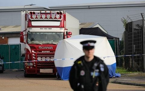 Wednesday evening news briefing: Mystery surrounds route of lorry found in Essex containing 39 bodies