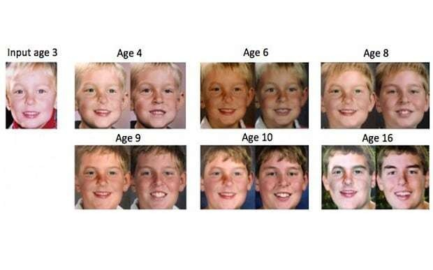 Ageing software predicts what babies look like as adults