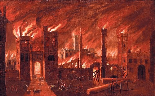 The story of the Great Fire of London retold 350 years on